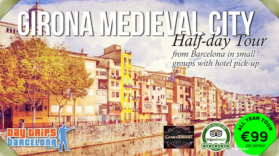 6 hour half day tour to Girona