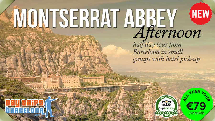 Montserrat Mountain Afternoon - Small group Day Tour