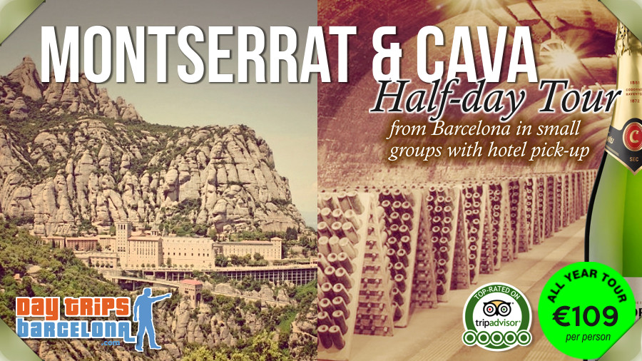 Montserrat Mountain and Cava Winery - Half Day Tour