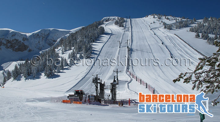 Masella Ski resort near Barcelona