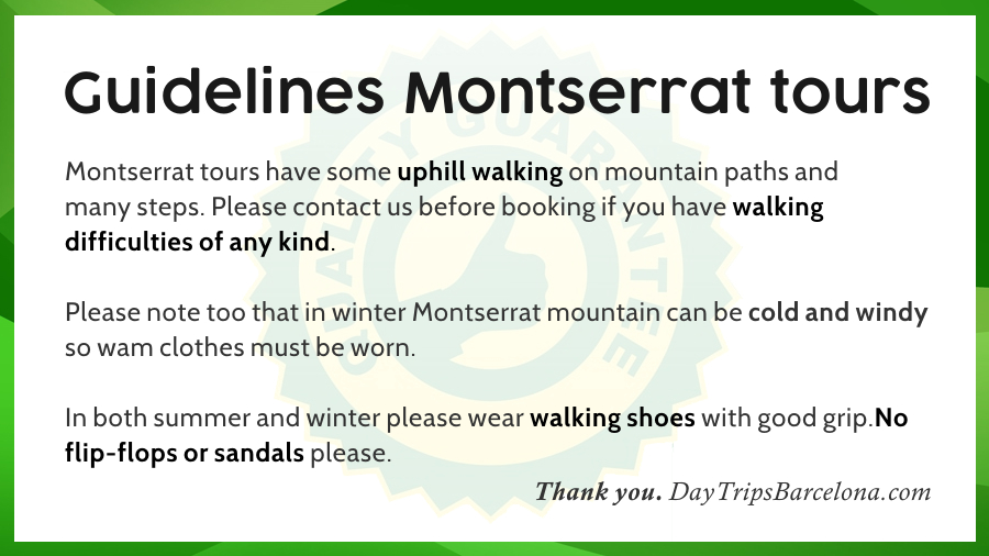 Guidlines regarding walking and attire