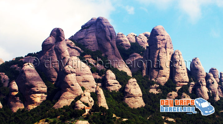 Elephant rock at Montserrat